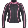 BLOUSON CUIR RACING LADY AMM 2103